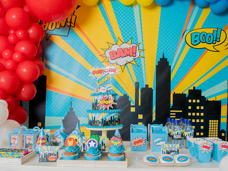 cambara-decoeventos-decoracion-candy-bar-fiesta-personalizada-comic